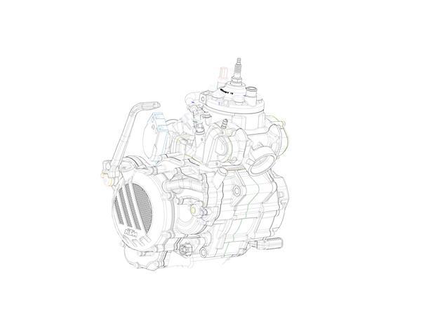 KTM EXC 2018_engine