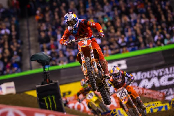 Musquin, Dungey and Smith Podium for KTM