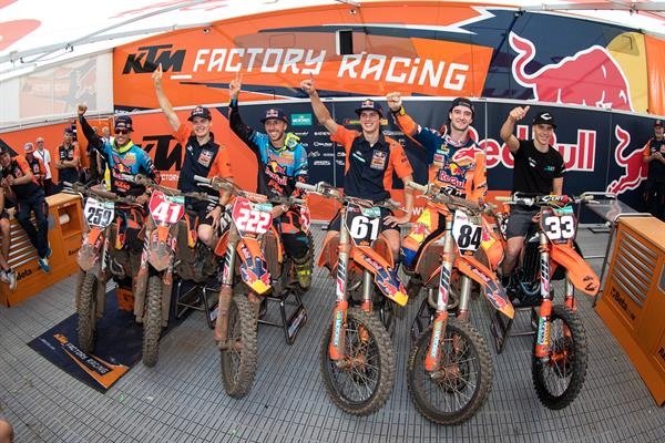 Historic day for KTM at Grand Prix of Belgium