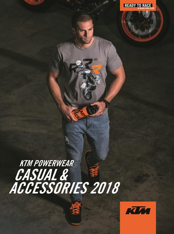 KTM PowerWear Casual and Accessories 2018 Catalog_Cover