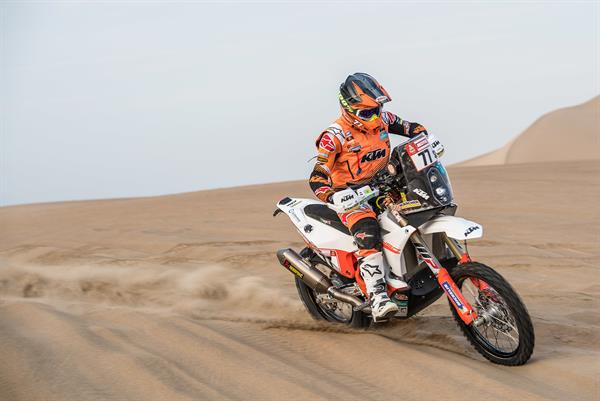 Luciano Benavides - KTM Rally Factory Racing - Dakar Rally 2018