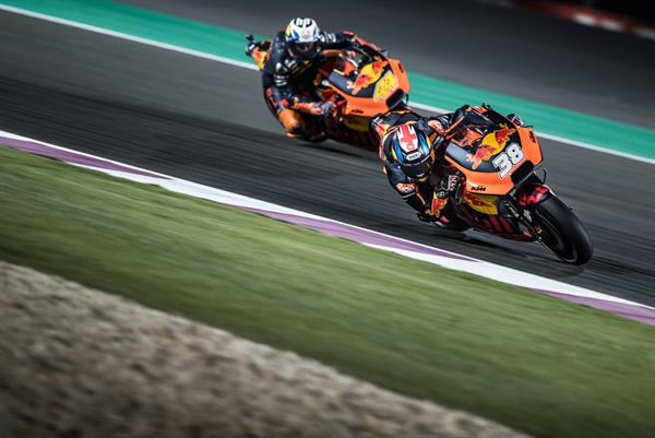 Bradley Smith & Pol Espargaro KTM RC16 Losail International Circuit 2018