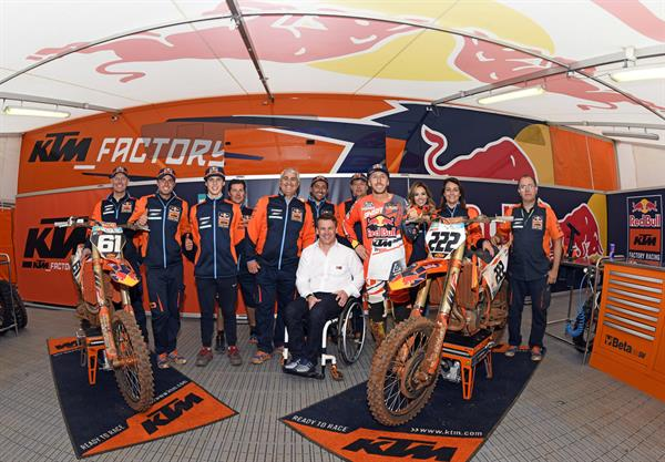 Red Bull KTM Factory Racing at Redsand 2018