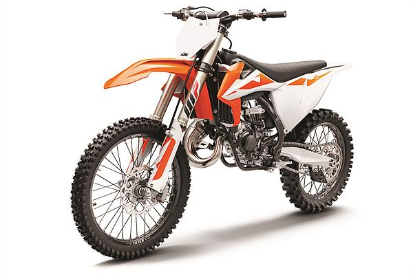 KTM 125 SX MY2019_left front