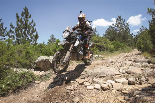 KTM 790 ADVENTURE R P2 in action