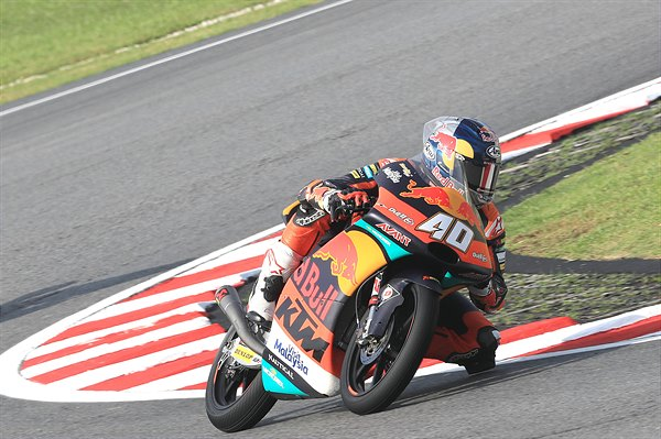 Darryn Binder KTM RC250 GP Sepang International Circuit 2018