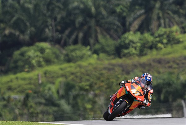 Brad Binder KTM Moto2 Sepang International Circuit 2018