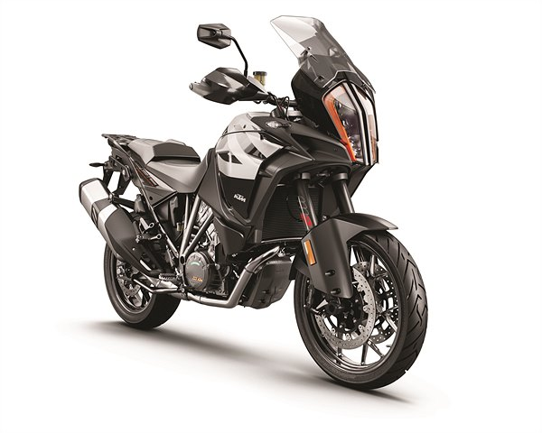 KTM 1290 SUPER ADVENTURE S Grey MY19 Front-Right