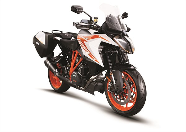 KTM 1290 Super Duke GT MY19 Orange CASE Front-Right