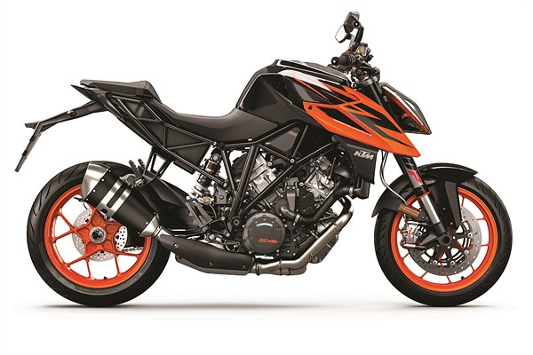 KTM 1290 SUPER DUKE R MY19 Black-Orange 90-Right