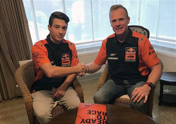 Tom Vialle Signs with Red Bull / KTM MX2 for 2019
