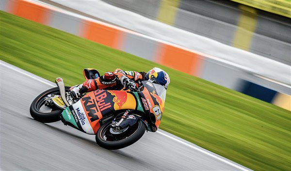 Can Oncu KTM RS250 GP Valencia