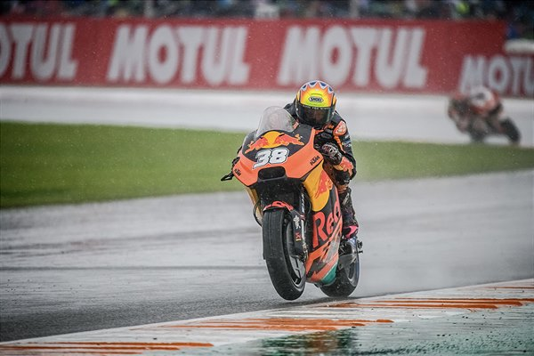 Bradley Smith KTM RC16 MotoGP Valencia