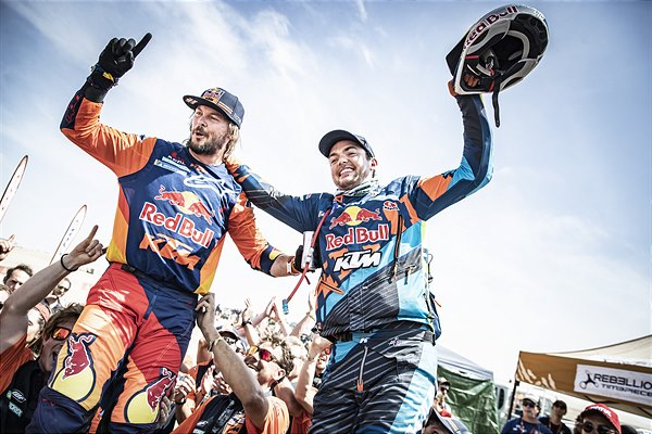 Toby Price, Matthias Walkner - Dakar Rally 2019