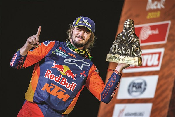 Toby Price podium Dakar 2019