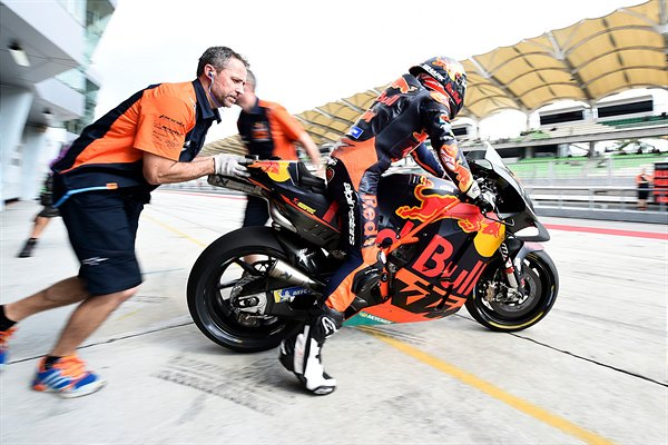 Johann Zarco KTM RC16 MotoGP Sepang test 2019 Day Two