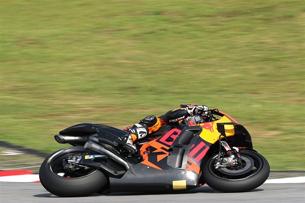 Mika Kallio KTM RC16 MotoGP Sepang test 2019 Day Two