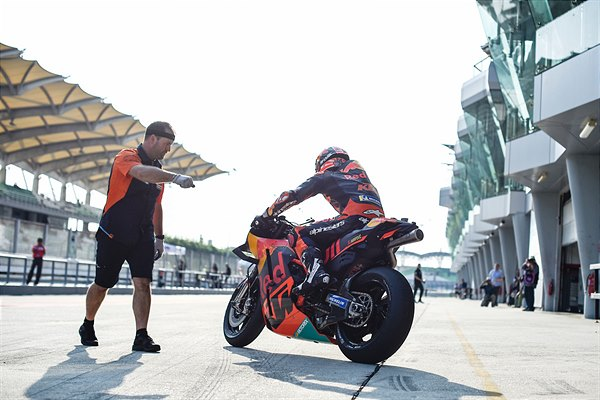 Johann Zarco KTM RC16 MotoGP Sepang test 2019 Day Three