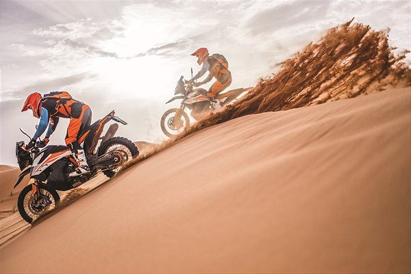 KTM Ultimate Race_KTM 790 ADVENTURE R in action
