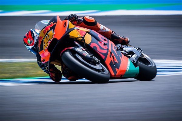 Pol Espargaro KTM RC16 MotoGP Spain test 2019