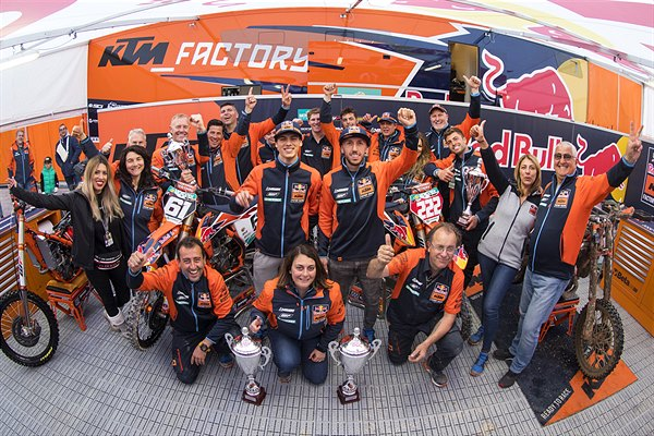 Red Bull KTM Factory Racing 2019 Mantova