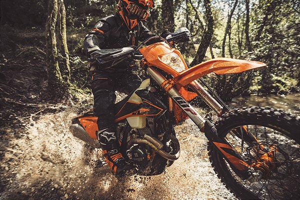 Action KTM 350 EXC-F MY2020