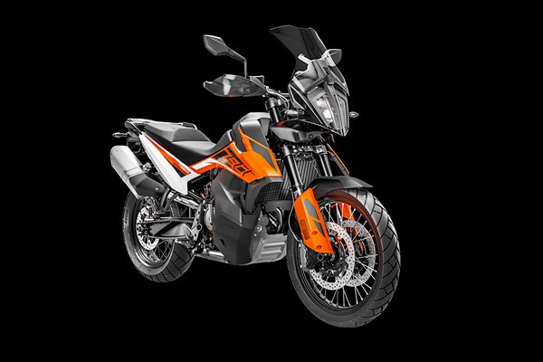KTM 790 ADV Orange MY19 Front-Right