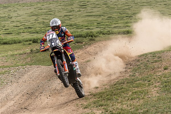 Luciano Benavides - KTM 450 RALLY - 2019 Silk Way Rally