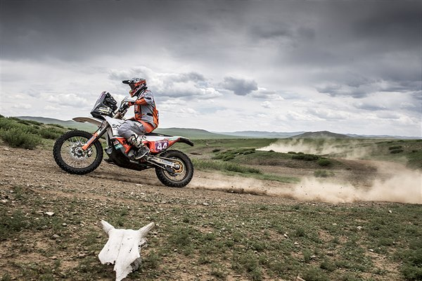 Laia Sanz - KTM 450 RALLY - 2019 Silk Way Rally
