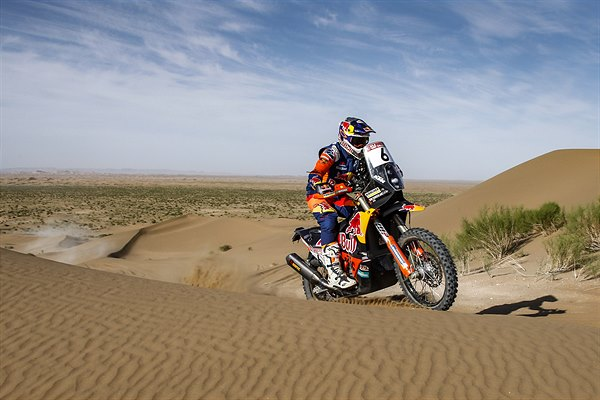 Sam Sunderland - KTM 450 RALLY - 2019 Silk Way Rally
