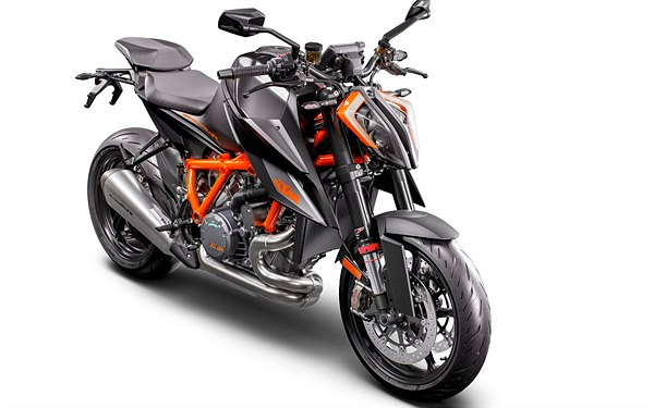 02 KTM 1290 SUPER DUKE R MY20 - Black - front-right