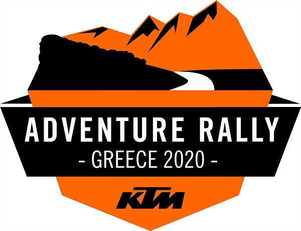 2020 European KTM ADVENTURE RALLY, Greece Logo