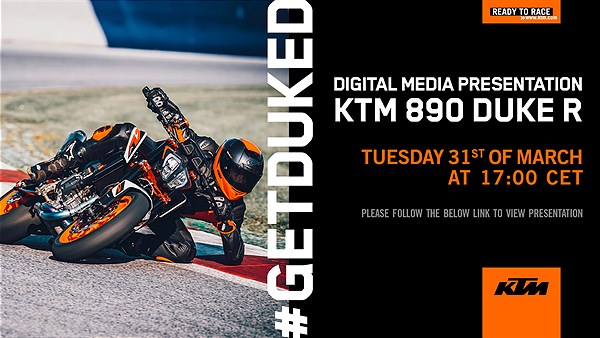Invitation KTM 890 DUKE R_Media Presentation 2020