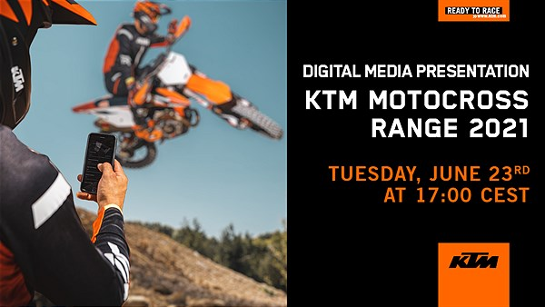 MY21 KTM SX Model Range Teaser