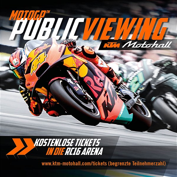 MotoGP™ Public Viewing Spielberg