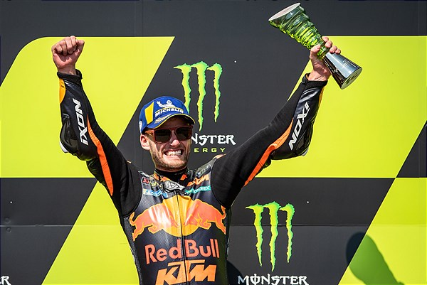 Brad Binder Celebration MotoGP 2020 Brno
