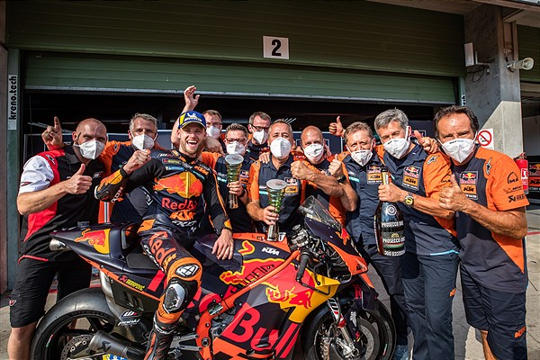 Red Bull KTM Factory Racing MotoGP 2020 Brno