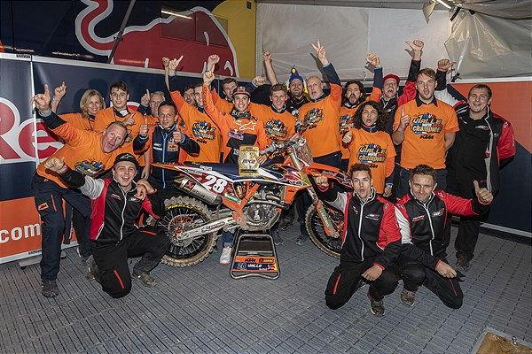 Tom Vialle KTM 250 SX-F 2020 Pietramurata - World Champion