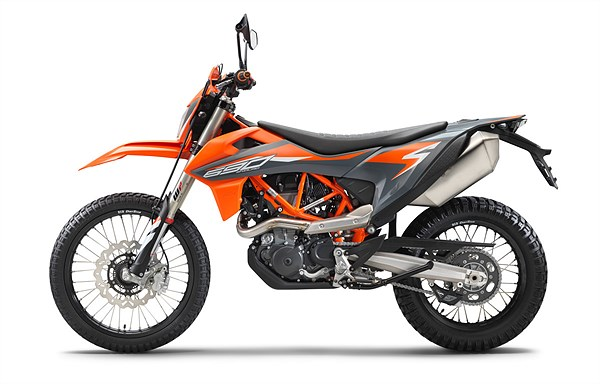 KTM 690 ENDURO R 2021 left