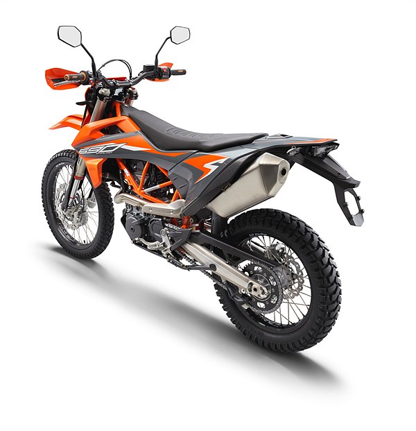 KTM 690 ENDURO R 2021 rear left
