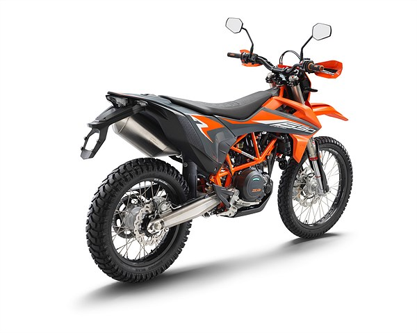 KTM 690 ENDURO R 2021 rear right