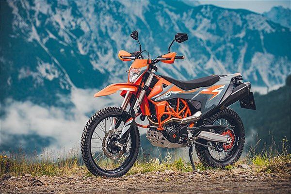 KTM 690 ENDURO R 2021 Static