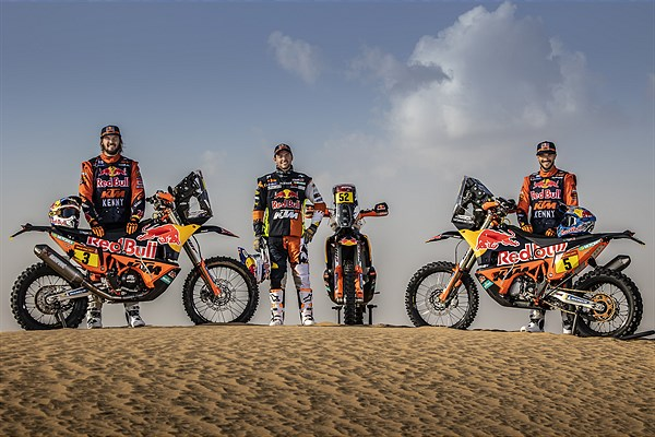 Red Bull KTM Factory Racing - 2021 Dakar Rally Preview