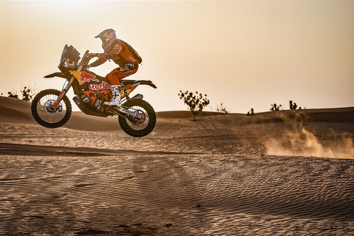 Sam Sunderland - Red Bull KTM Factory Racing - 2021 Dakar Rally Stage Five