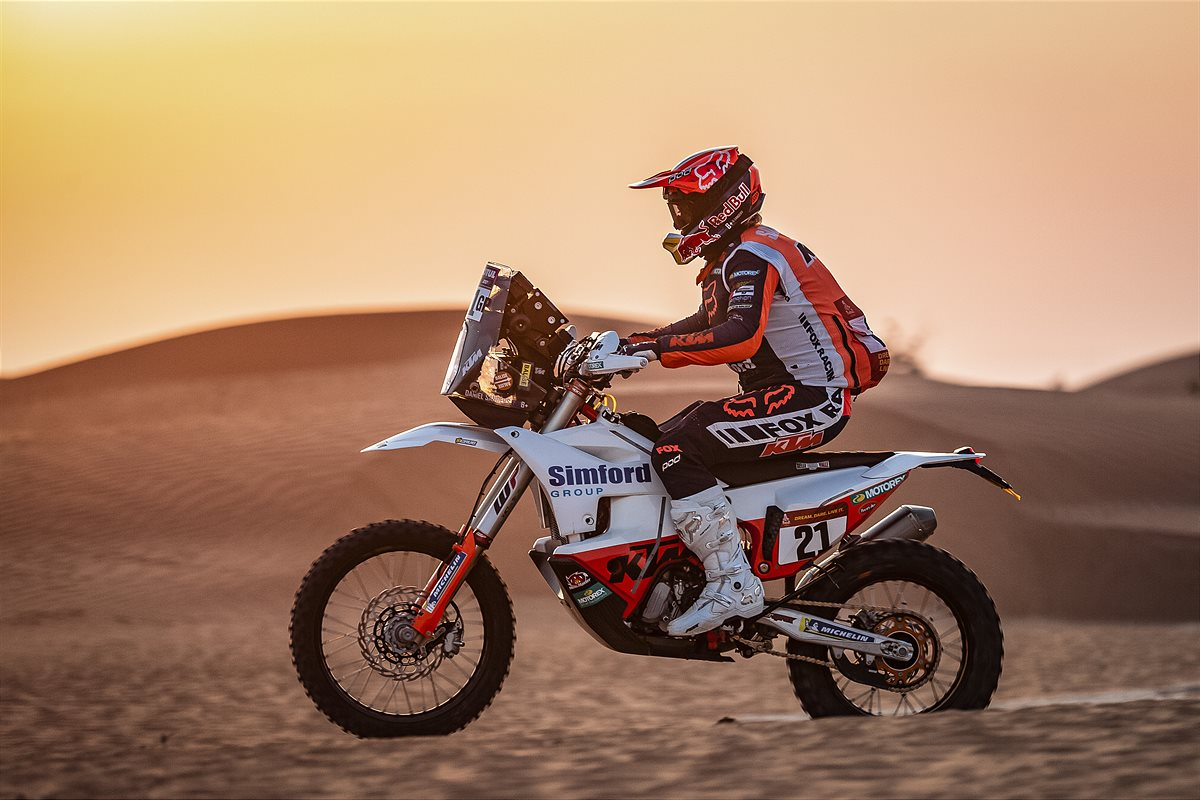 Daniel Sanders - KTM Factory Racing - 2021 Dakar Rally Stage Five