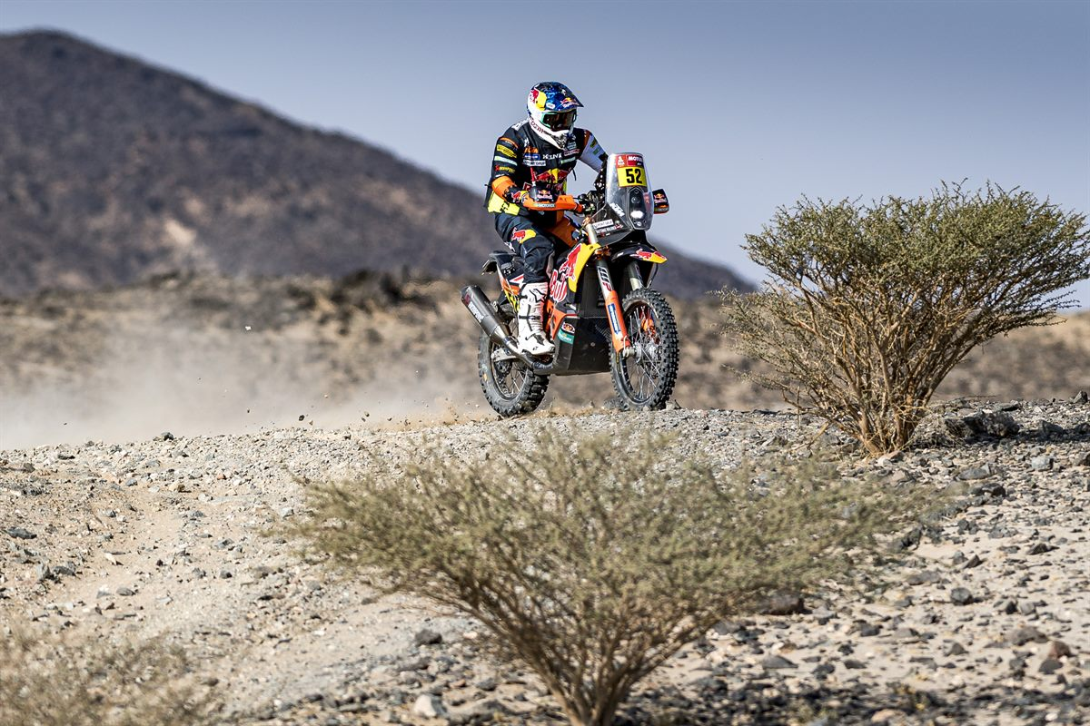 Matthias Walkner - Red Bull KTM Factory Racing - 2021 Dakar Rally Stage Five
