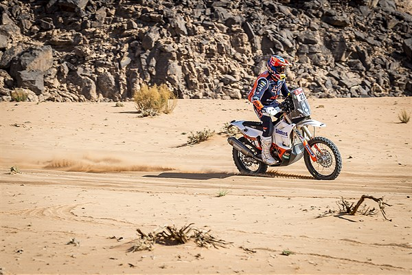 Daniel Sanders - KTM Factory Racing - 2021 Dakar Rally Stage Eight