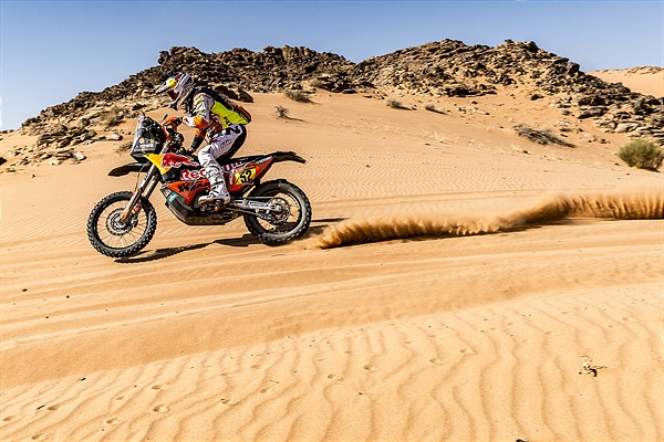 Matthias Walkner - Red Bull KTM Factory Racing - 2021 Dakar Rally Stage Eight