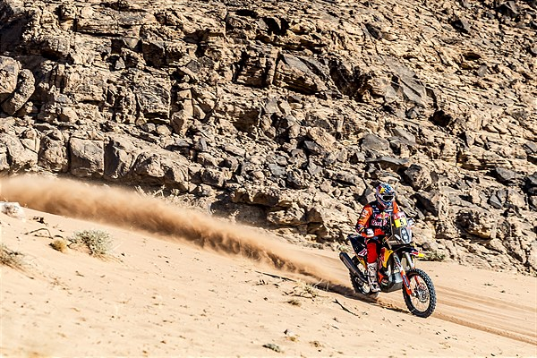 Sam Sunderland - Red Bull KTM Factory Racing - 2021 Dakar Rally Stage Eight
