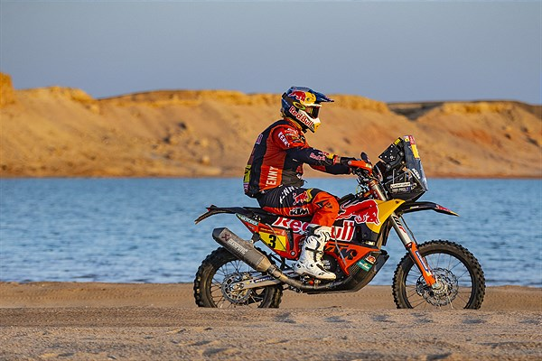 Toby Price - Red Bull KTM Factory Racing - 2021 Dakar Rally Stage Nine